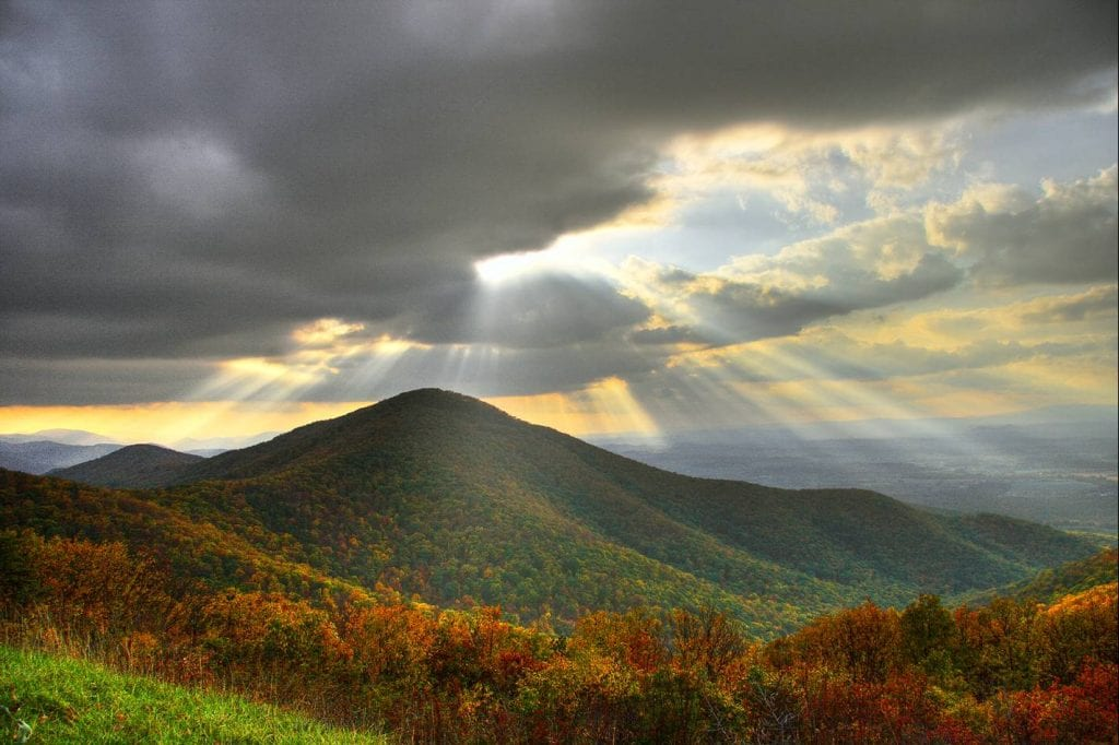 "Best in Show Winner: ""View of Turk Mountain from Skyline Drive"" (Skyline Drive) by Jesus Perez of Charlottesville"