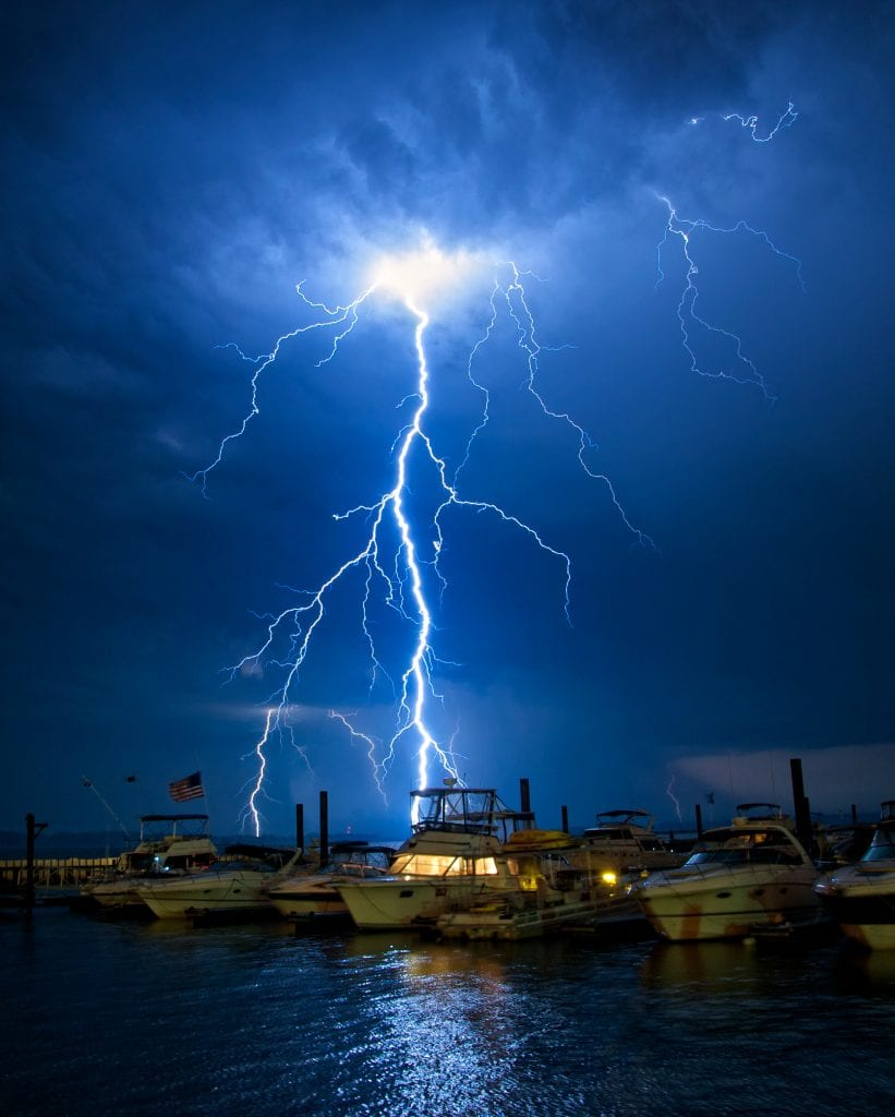 "Rivers & Waterways Winner: ""Lightning Boats"" by James Betts of Richmond"