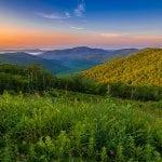 Mid July Sunrise in the Shenandoah