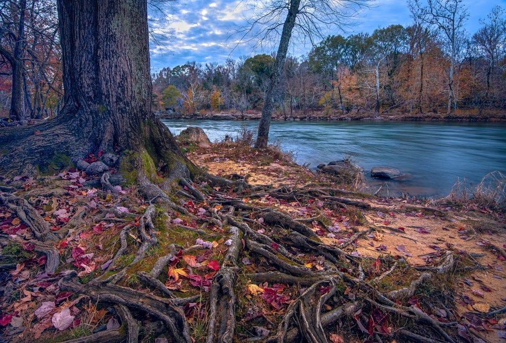 Late Fall on the Rappahannock River
