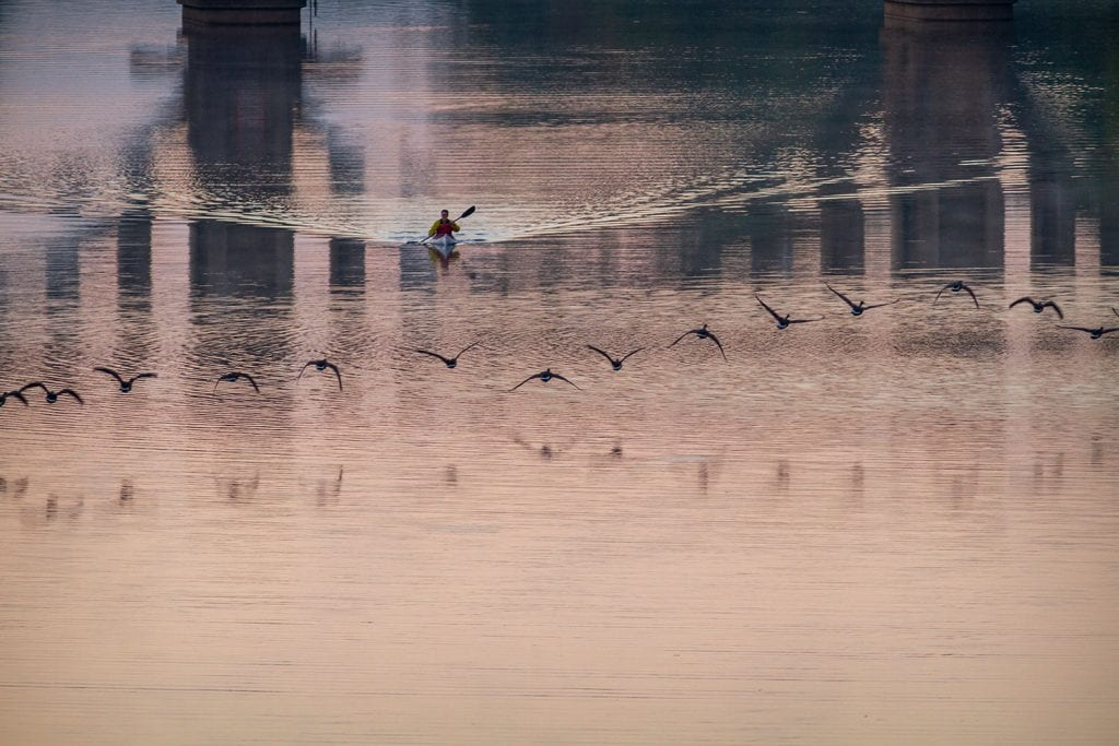 Sunrise Reflections on the Rappahannock